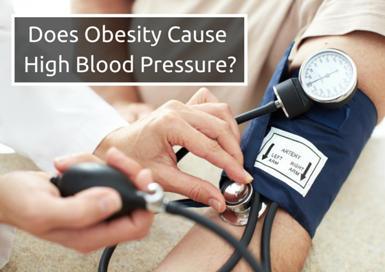 Does Obesity Cause High Blood Pressure