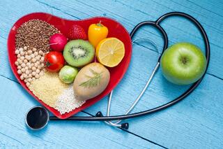 stethoscope and cholesterol friendly foods